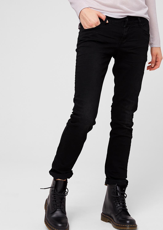 s.Oliver Denim dámské kalhoty Slim Fit 49.508.71.5550/99Z2 Černá W29/L34
