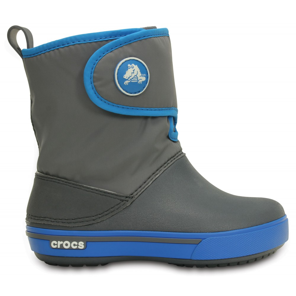Crocs Crocband Gust Boot Charcoal/Ocean Šedá 28