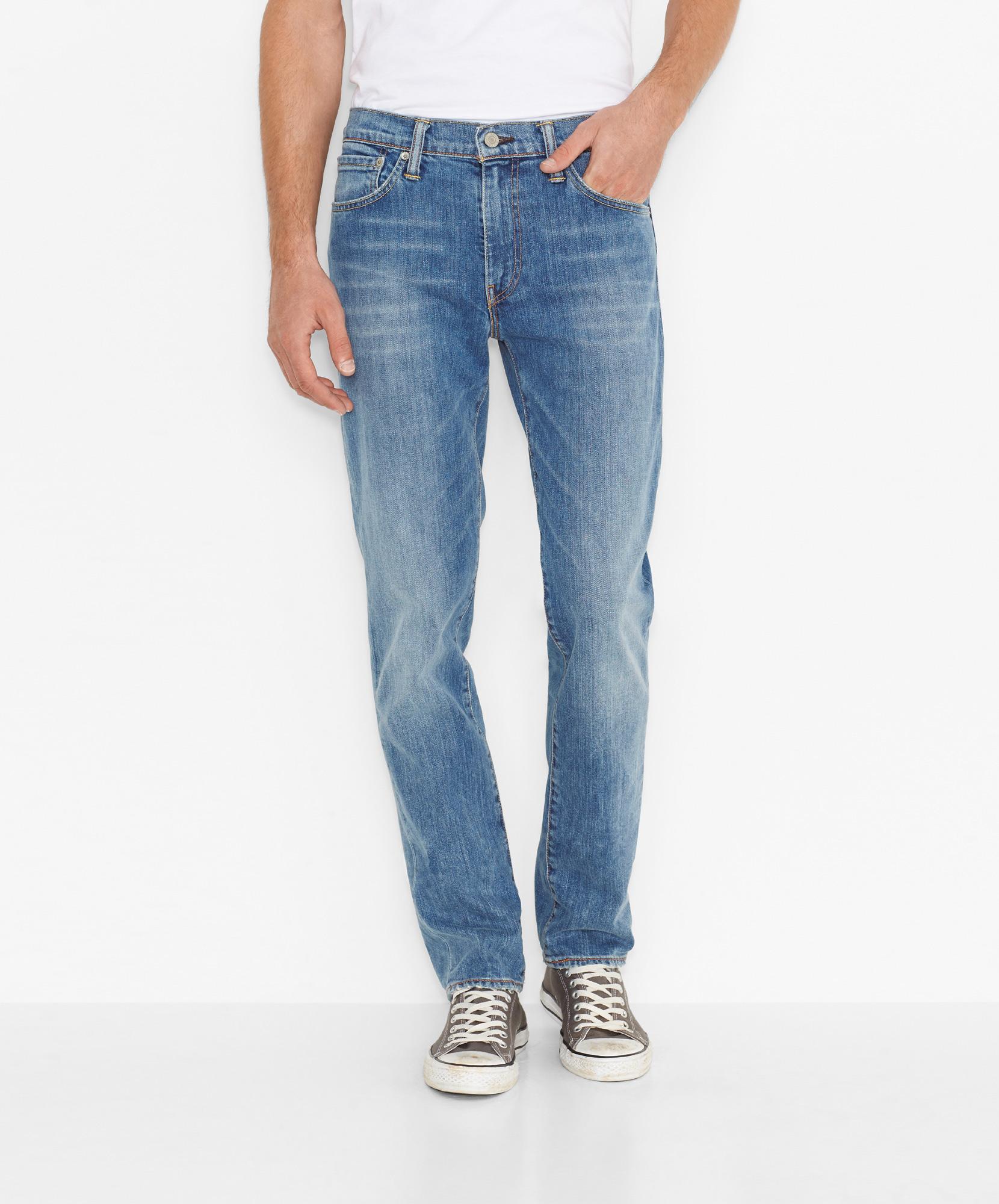 Levi´s pánské kalhoty (jeans) 511™ Slim Jeans 04511-1096 Modrá W36/L34