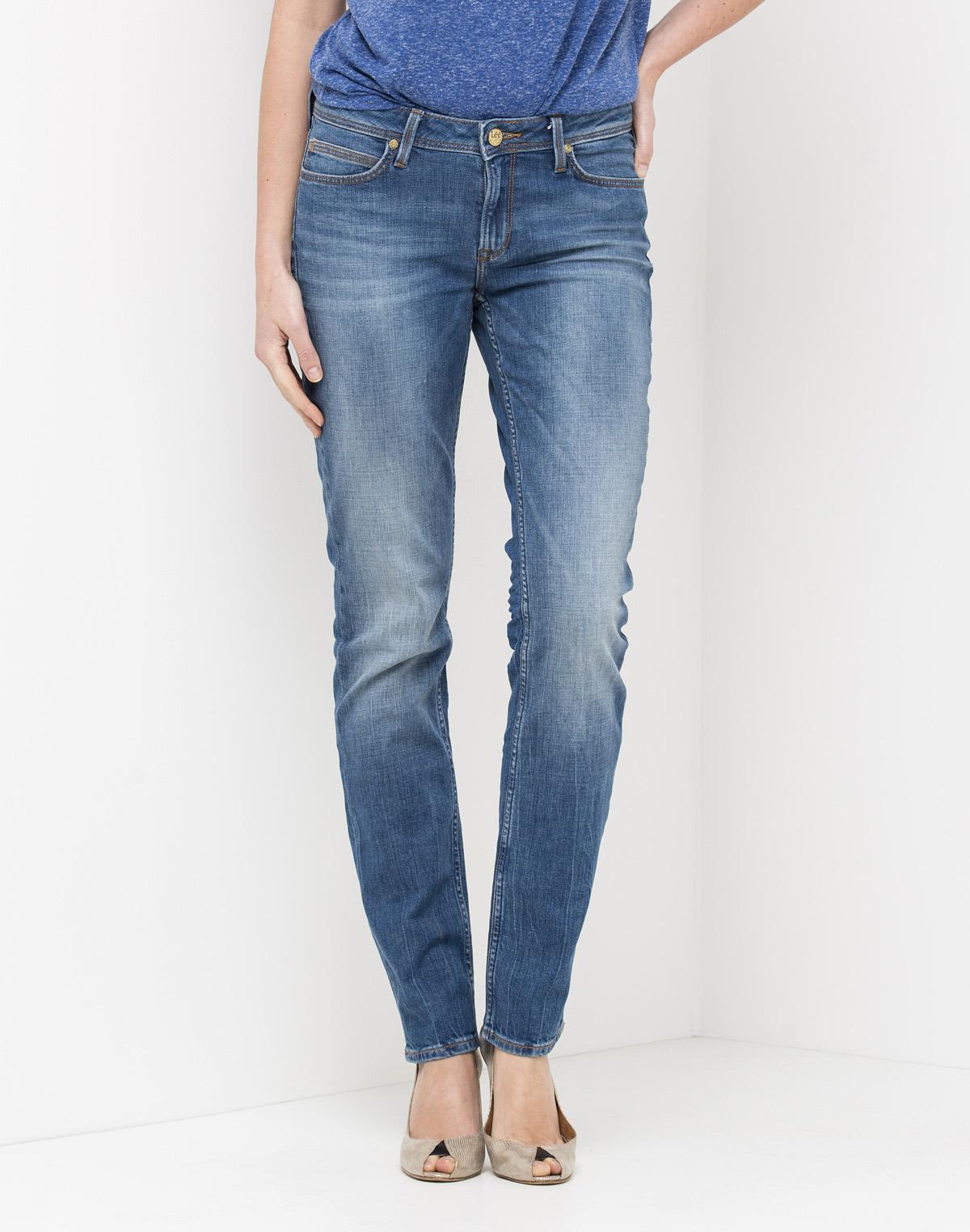 LEE dámské kalhoty (jeans) Emlyn Regular Slim L370BCQD Modrá W28/L31
