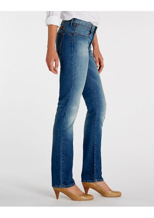 7d61f4fd5f9 Wrangler dámské kalhoty (jeans) Drew W24S9369X - Superjeans.cz