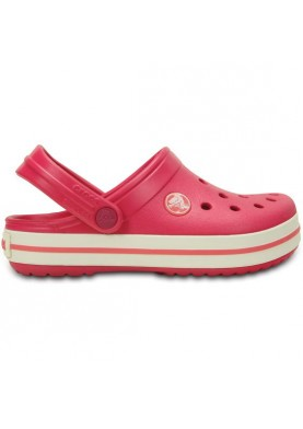Crocs Crocband Kids Raspberry/White