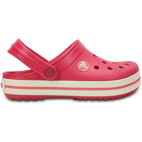 Crocs Crocband Kids Raspberry/White Růžová 27-28