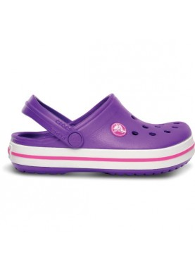 Crocs Crocband Kids Neon Purple/Neon Magenta