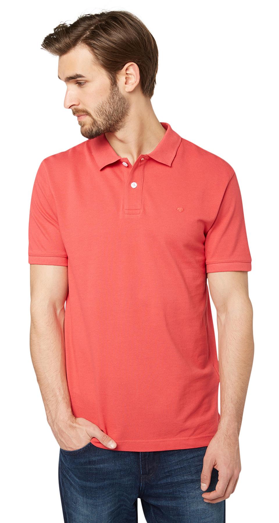 Tom Tailor pánské polo triko 15307560010/4273 Červená XL