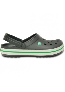 Crocs Crocband Graphite/Grass Green