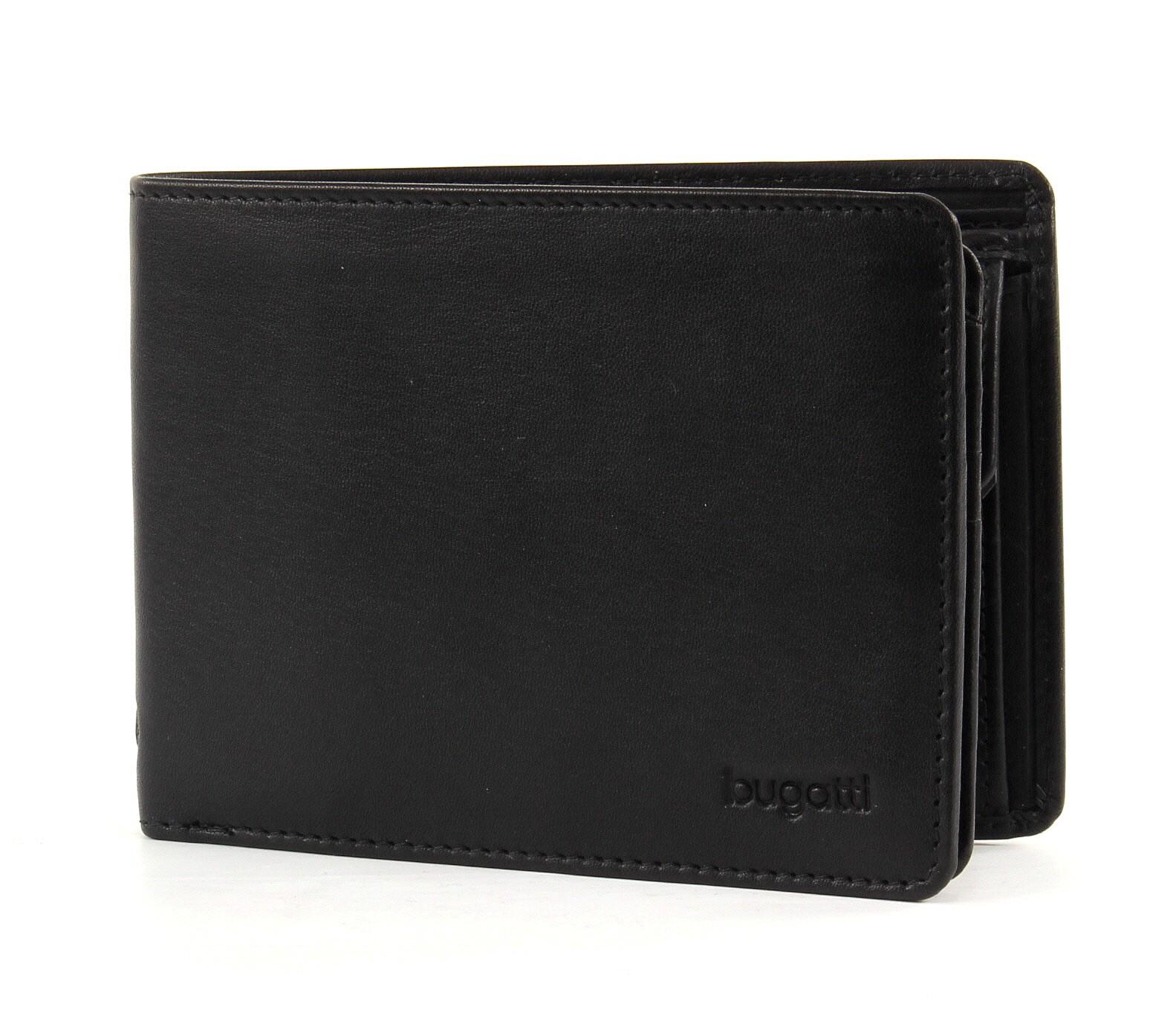 Bugatti pánská kožená peněženka 49107901 Černá