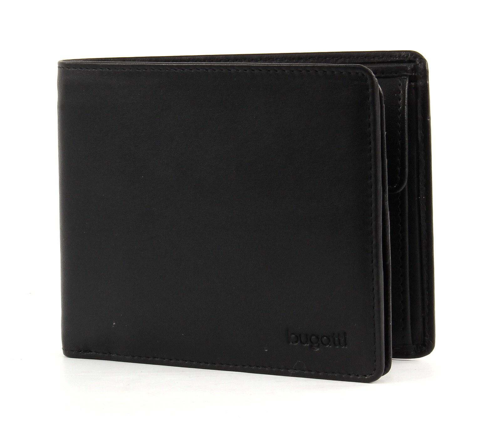 Bugatti pánská kožená peněženka 49108001 Černá