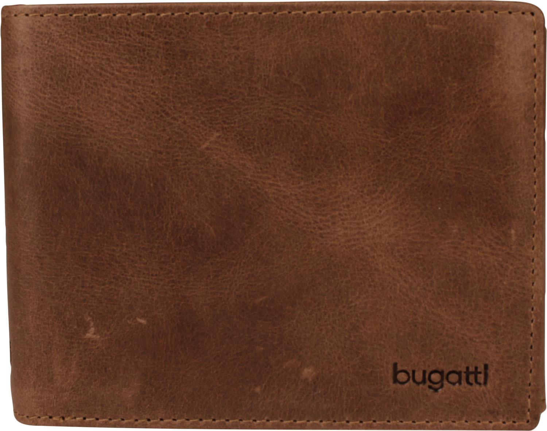 Bugatti pánská kožená peněženka 49217702 Hnědá