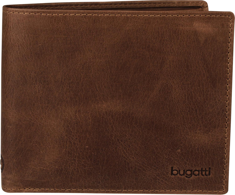 Bugatti pánská kožená peněženka 49217802 Hnědá