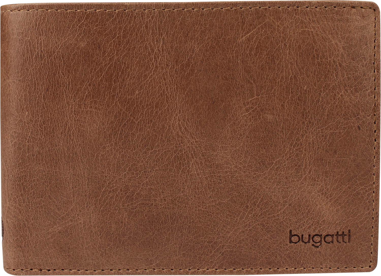 Bugatti pánská kožená peněženka 49217602 Hnědá