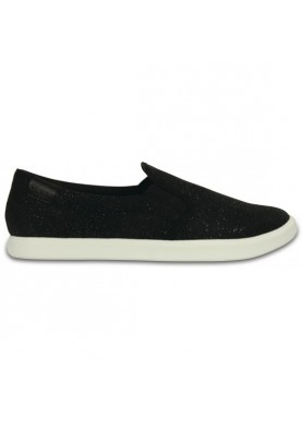 Crocs CitiLane Slip-on Sneaker Black Shimmer