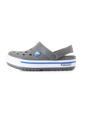 Crocs Crocband II.5 Kids Charcoal/Sea Blue