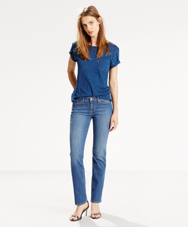 Levi´s dámské džíny 712 SLIM 18884-0008 Modrá W34/L32