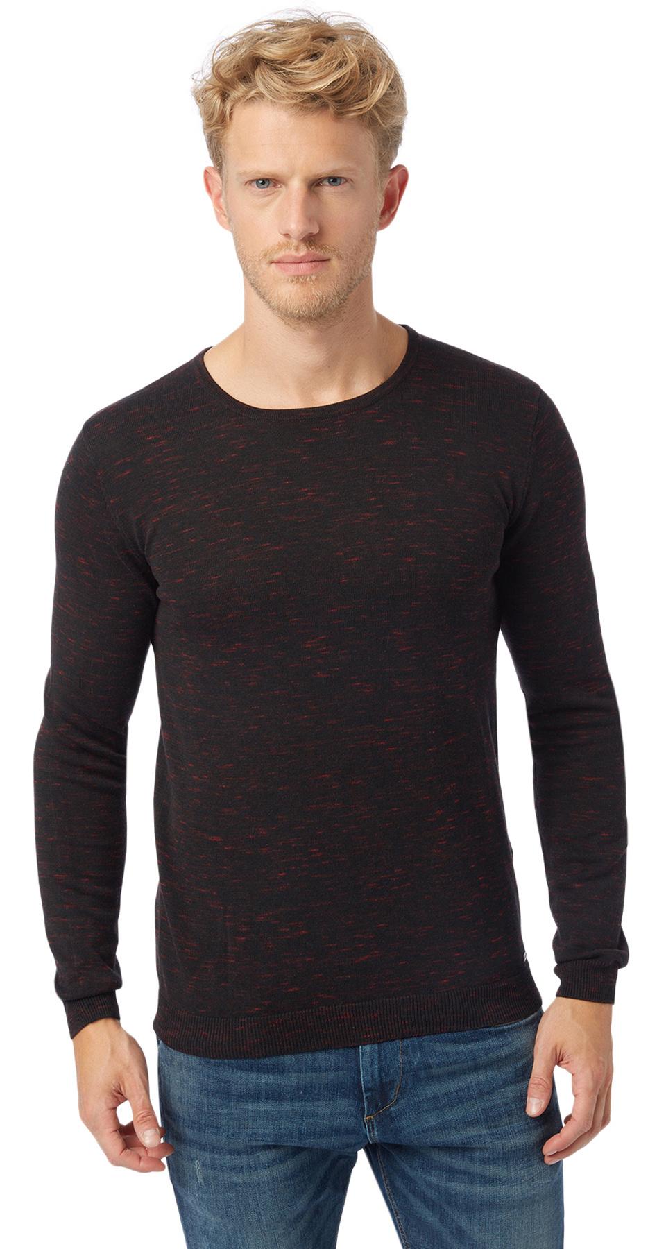Tom Tailor pánský svetr 30216040010/2975 Černá XL