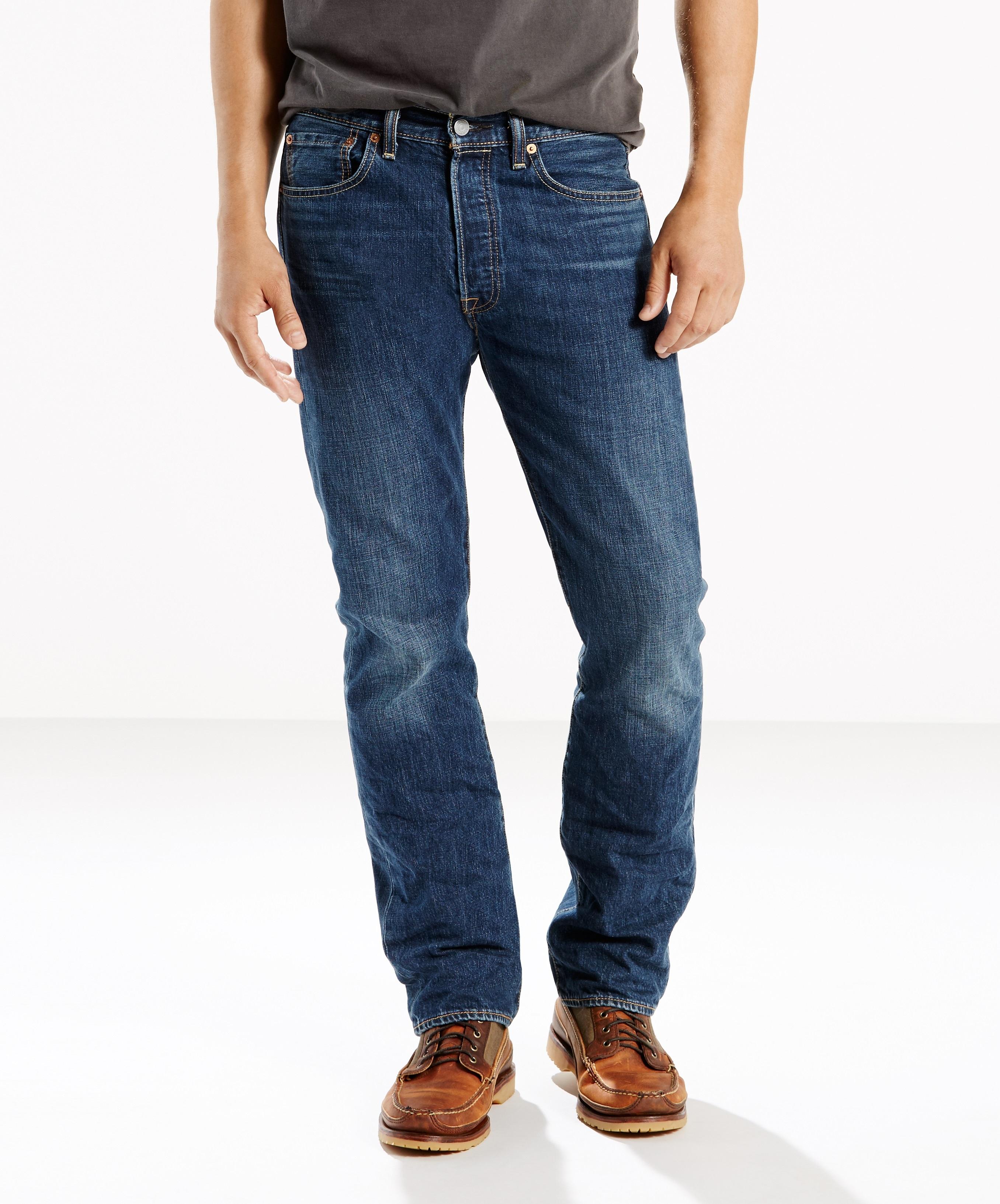 Levi´s pánské kalhoty 501® Origina Fit 00501-2250 Modrá W34/L36