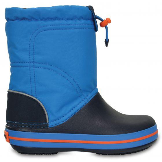 Crocs Crocband Lodgepoint Boot Kids Ocean/Navy Modrá 28