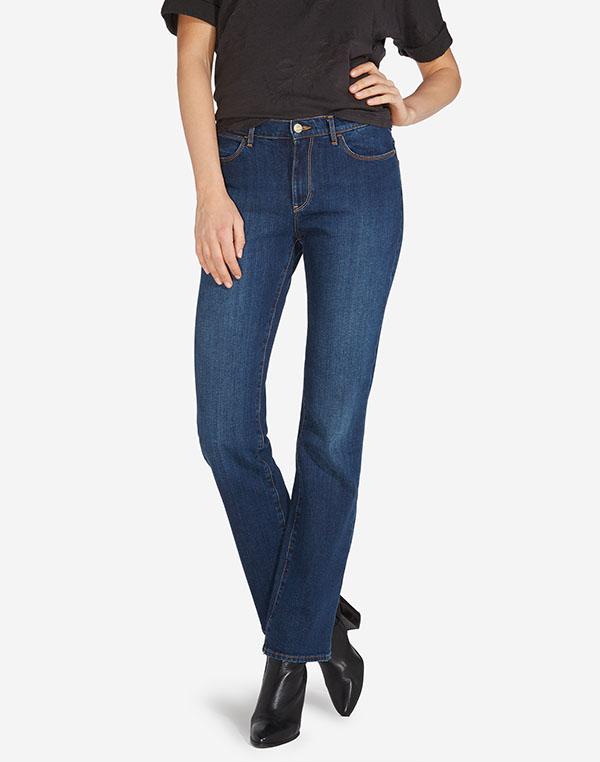 Wrangler dámské kalhoty (jeans) Tina W242X479G Modrá W31/L30
