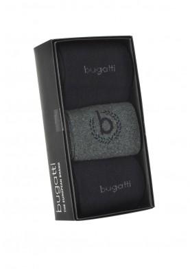 Bugatti ponožky 3 kusy v dárkové krabičce