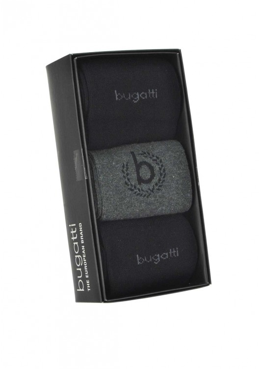Ponožky Bugatti 3 pack 6762X/620