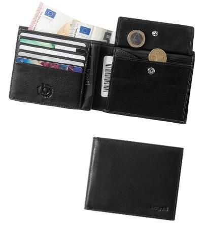 Bugatti pánská kožená peněženka 49117801 Černá