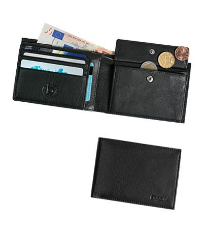 Bugatti pánská kožená peněženka 49117701 Černá