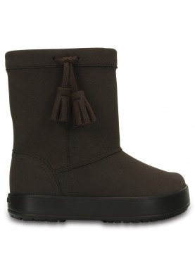 Crocs Lodgepoint boot Kids Espresso