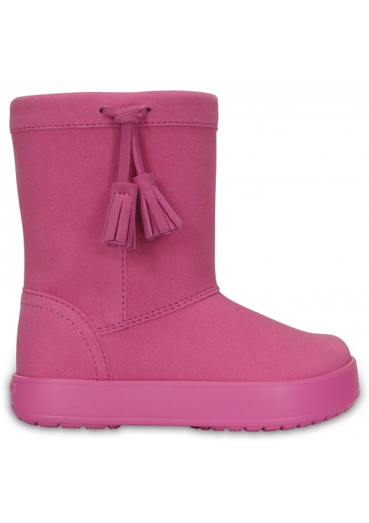 Crocs Lodgepoint boot Kids Party Pink