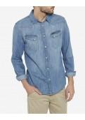 Wrangler pánská džínová košile Western W5833O64E