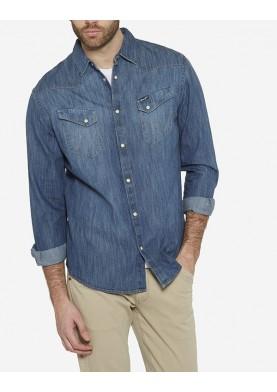 Wrangler pánská džínová košile W5870O68E
