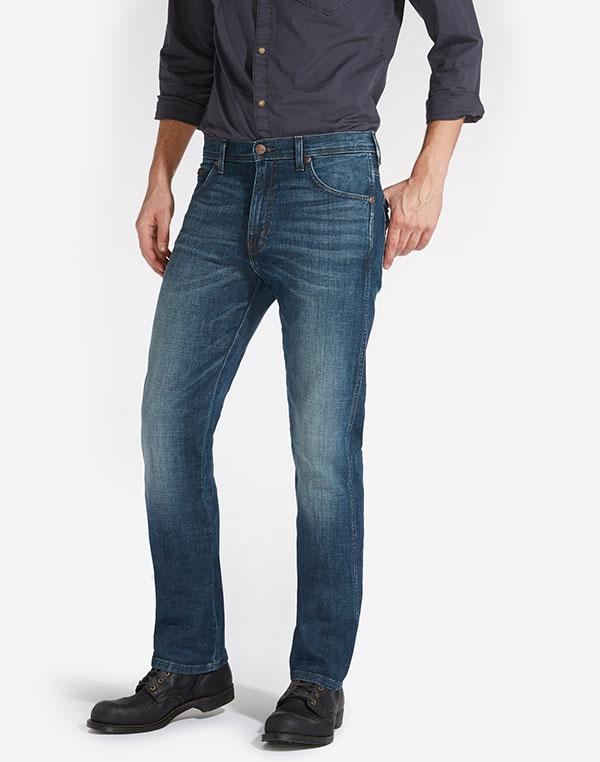Wrangler pánské kalhoty (jeans) Arizona W12O7777U Modrá W42/L34