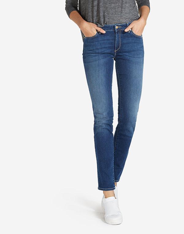 Wrangler dámské kalhoty (jeans) Slim W28LX785U Modrá W27/L32