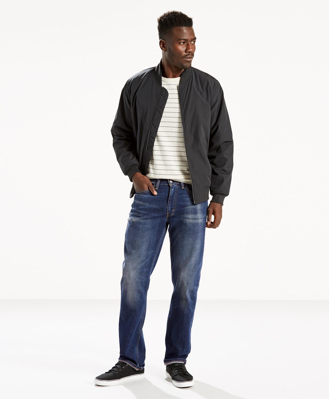 Levi´s pánské kalhoty 514™ Straight Fit 00514-0853 Modrá W36/L32