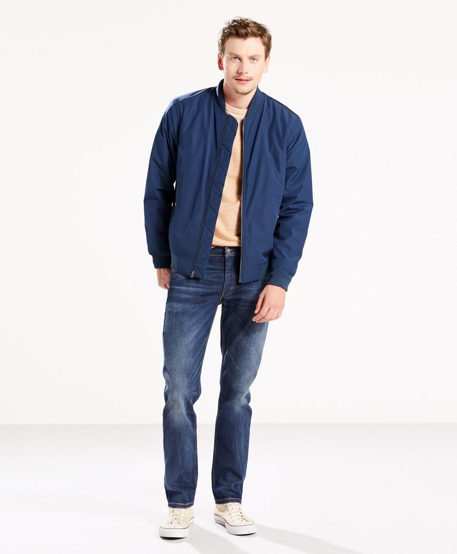 Levi´s pánské džíny modré 511 Slim Fit 04511-2213 Modrá W36/L32