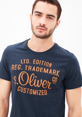 s.Oliver pánské triko modré