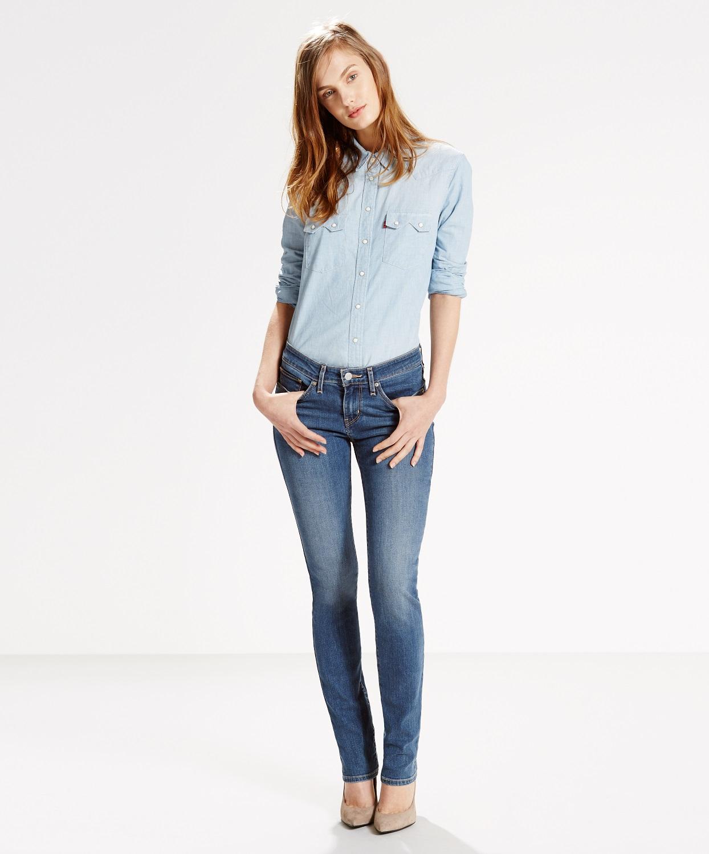 Levi´s dámské džíny 712 SLIM 18884-0004 Modrá W32/L32