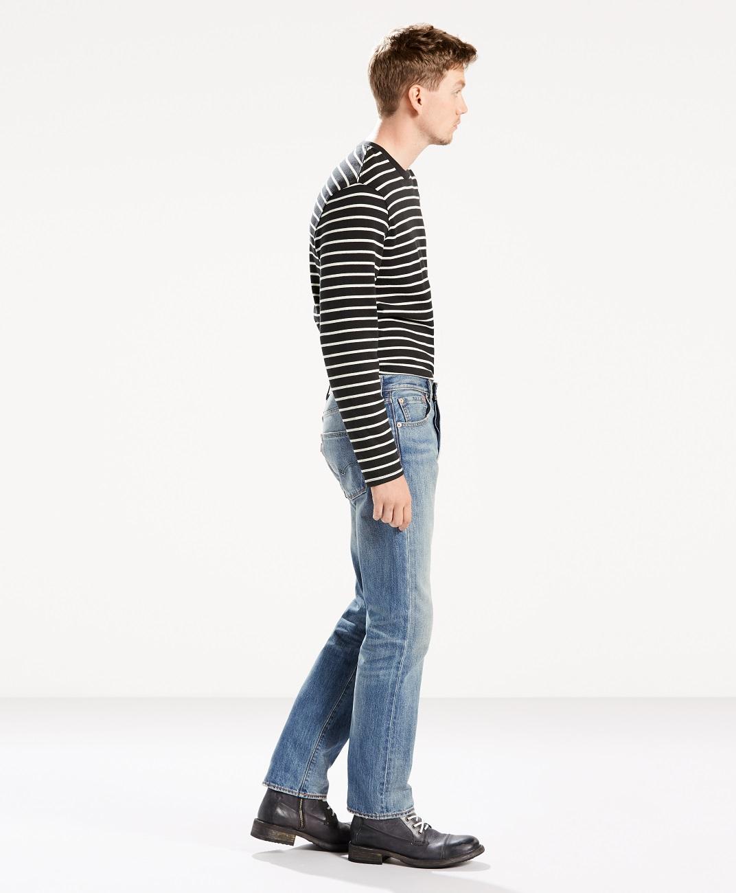 Levi´s pánské kalhoty (jeans) 00501-2415 Modrá W38/L34