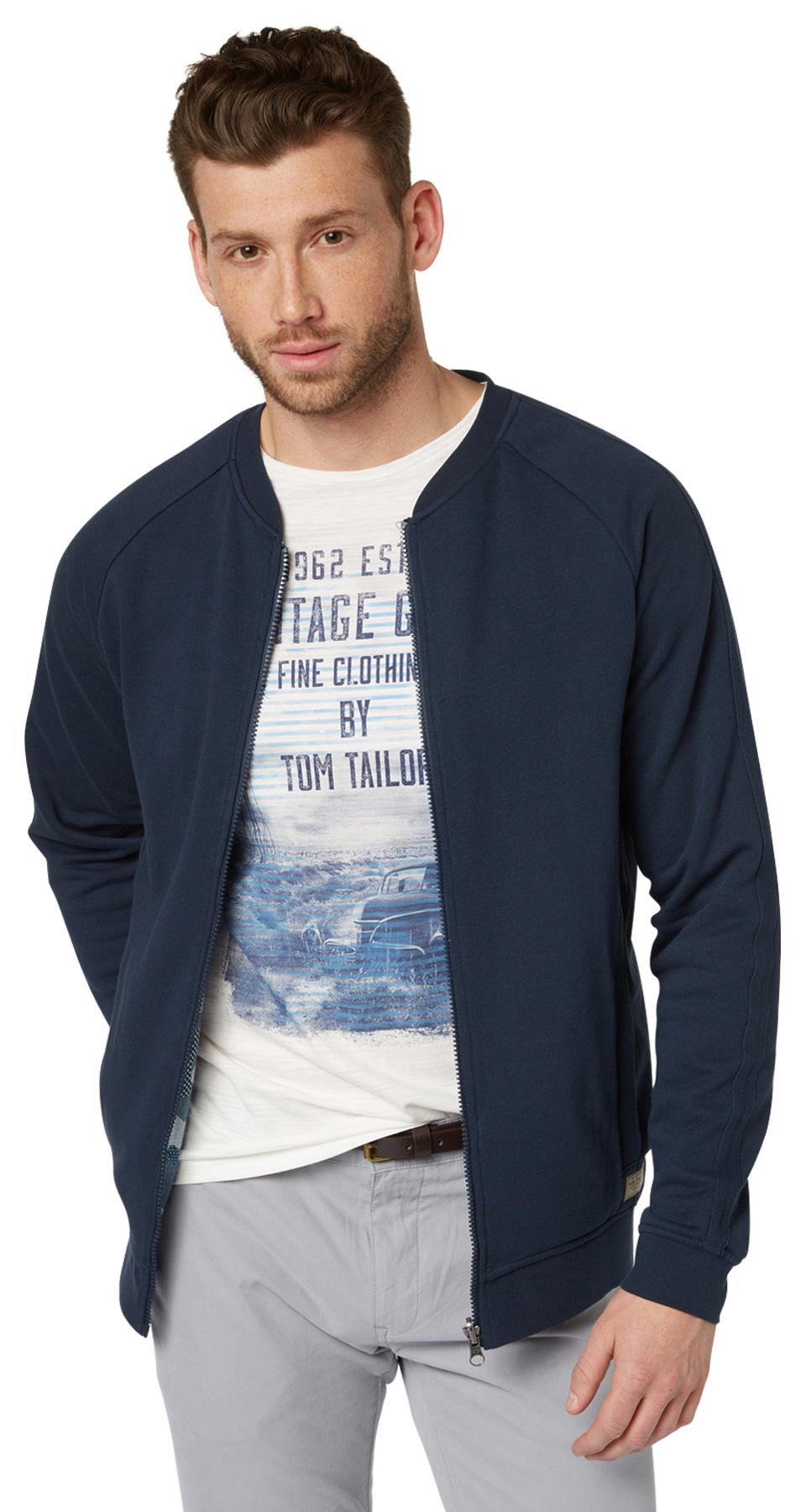 Tom Tailor pánská mikina 25311640010/6740 Modrá M