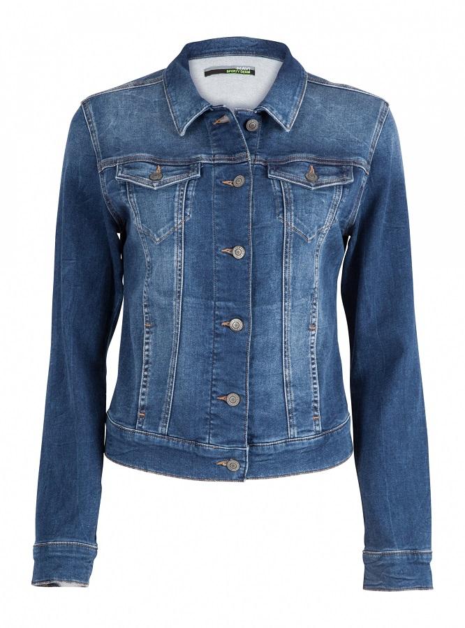 mavi dámská džínová bunda 11136-22590 Modrá S