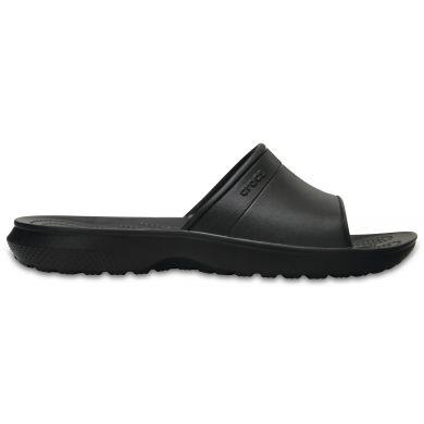 Crocs pánské pantofle Classic Slide Black Černá 45-46
