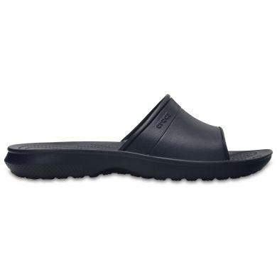 Crocs pánské pantofle Classic Slide Navy Modrá 44-45