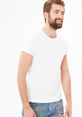 s.Oliver pánské triko bílé
