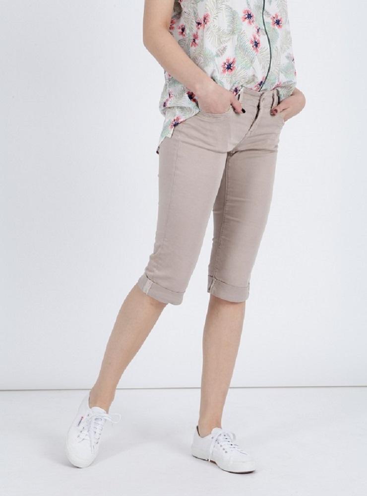 Mavi dámské 3/4 kalhoty Marina 10643-23421 Hnědá 26