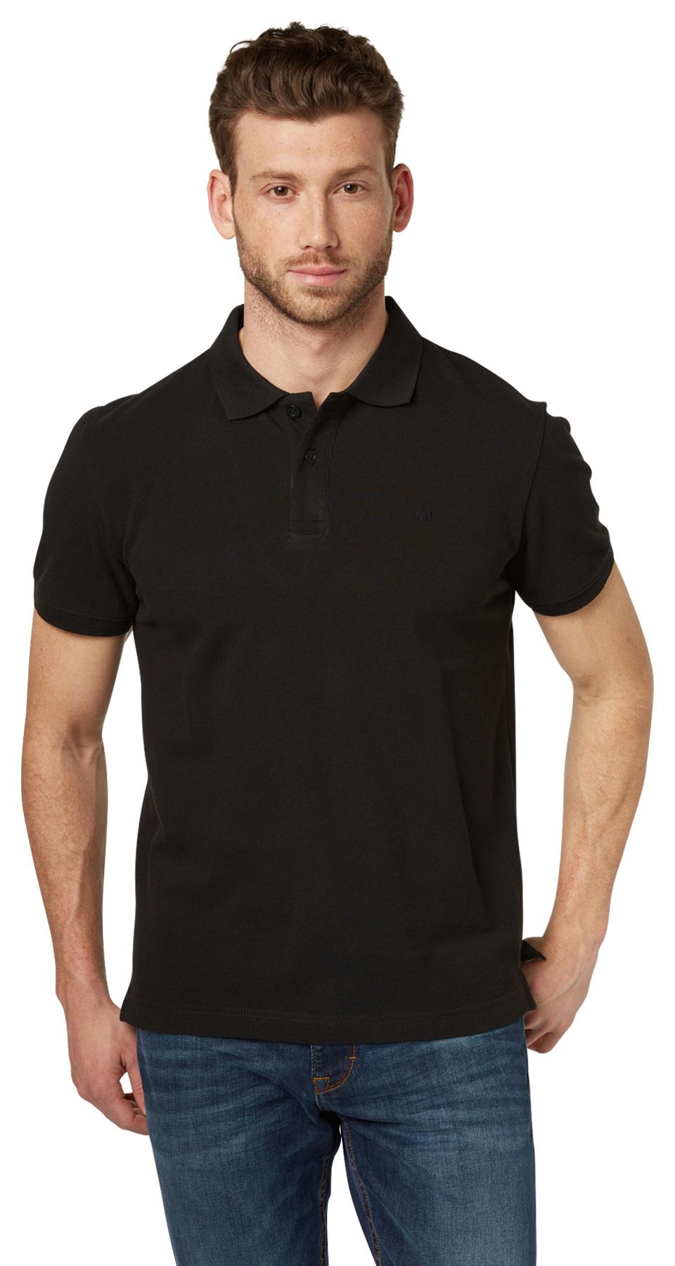 Tom Tailor pánské polo triko 15310070010/2999 Černá XL