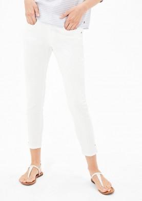 s.Oliver bílé kotníkové kalhoty