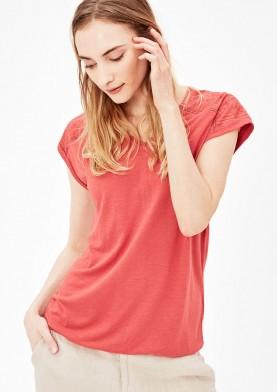 s.Oliver dámské triko s výšivkou