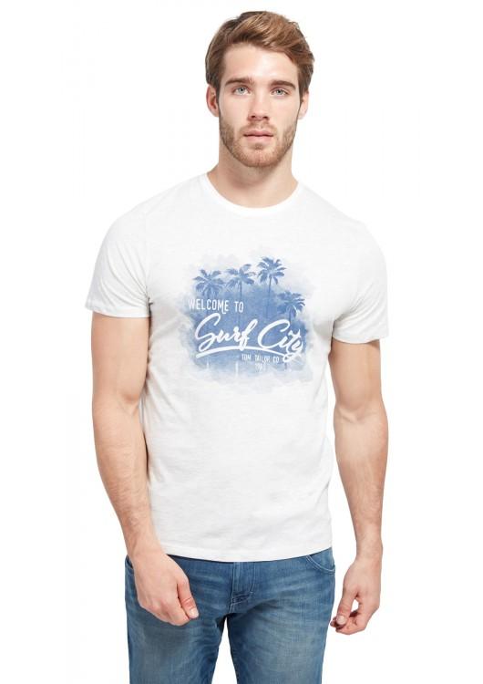 Tom Tailor pánské triko s potiskem