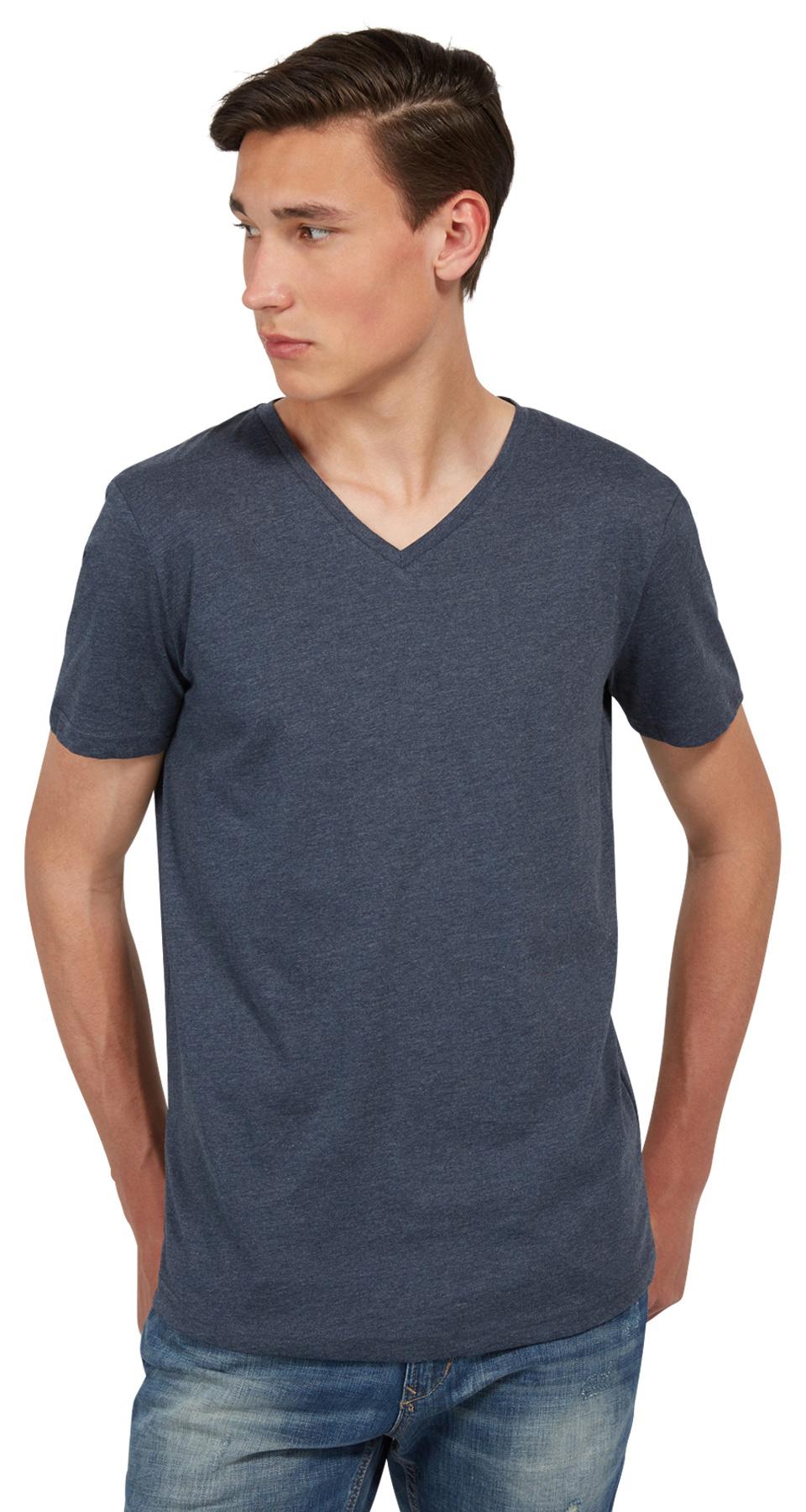 Tom Tailor Denim pánské triko 10381010012/6740 Modrá XL