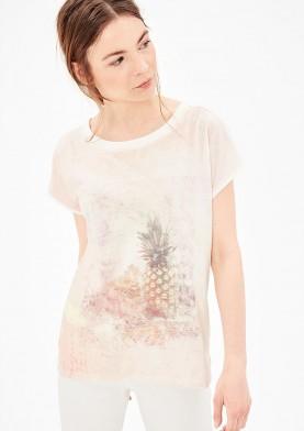 s.Oliver dámské triko s pastelovým potiskem