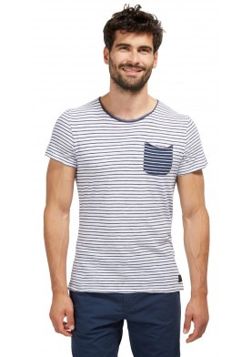 Tom Tailor pánské triko s kapsičkou
